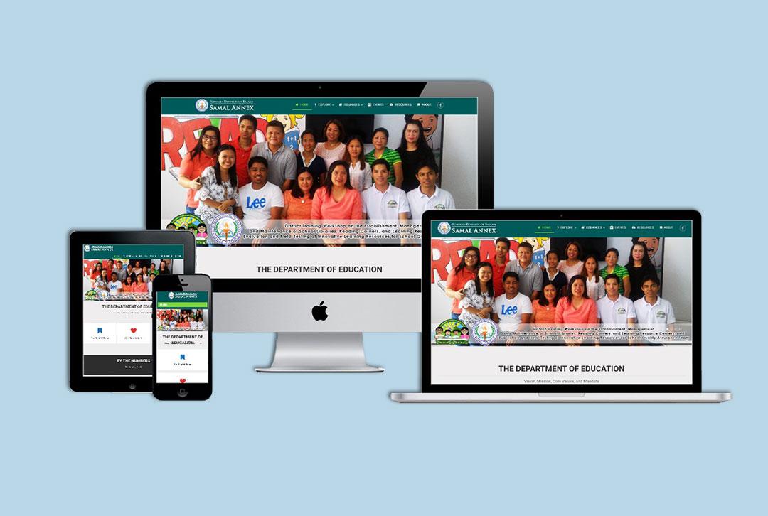 DepEd Samal Website